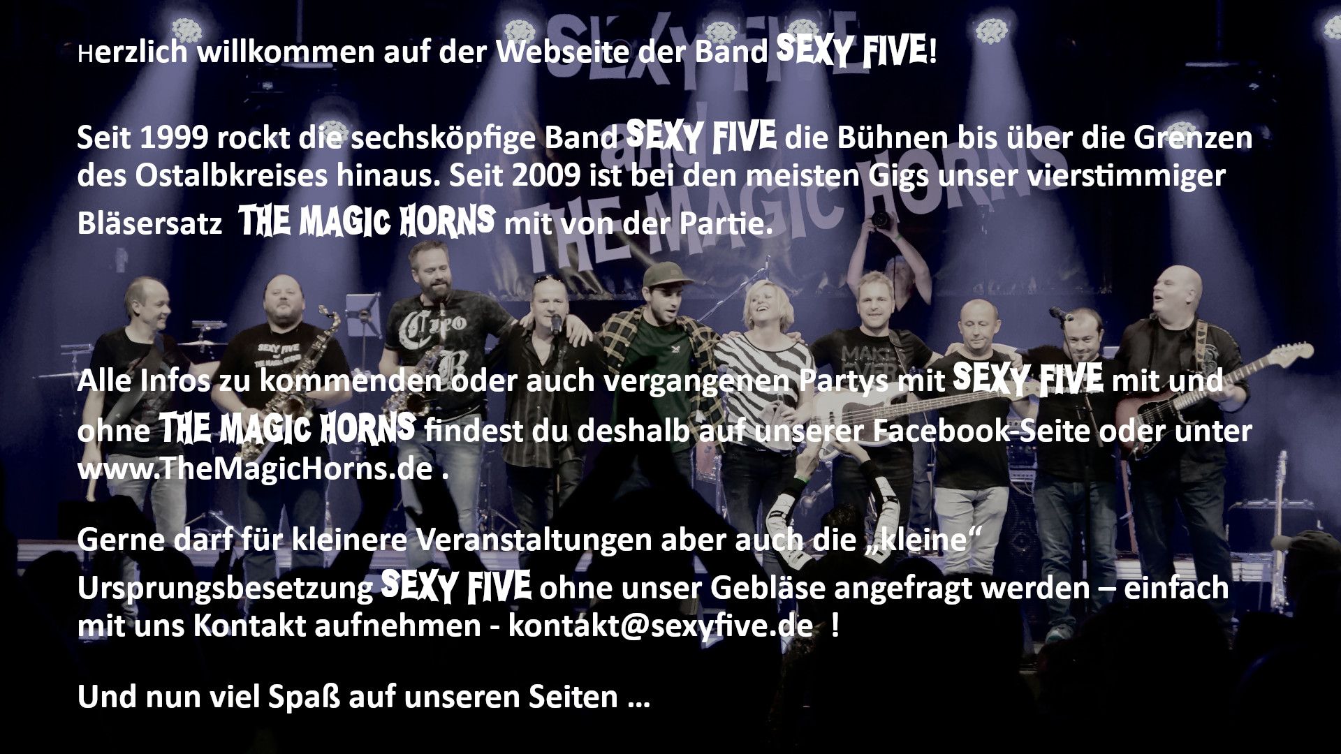 SEXY FIVE and THE MAGIC HORNS
